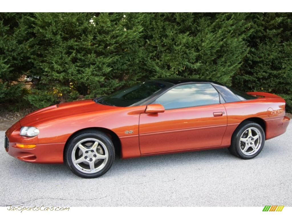 2002 Chevrolet Camaro Z28 Ss 35th Anniversary Edition Coupe In Sunset Orange Metallic Photo 11