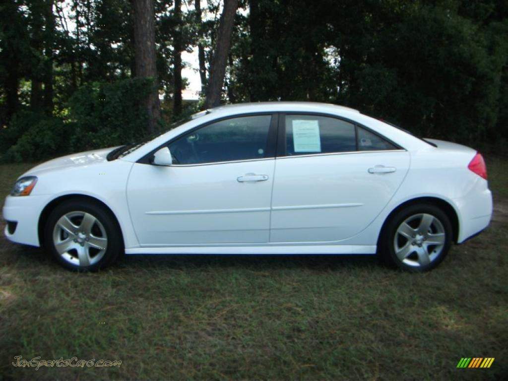 Volkswagen Fort Myers >> 2010 Pontiac G6 Sedan in Summit White - 160120   Jax Sports Cars - Cars for sale in FLorida