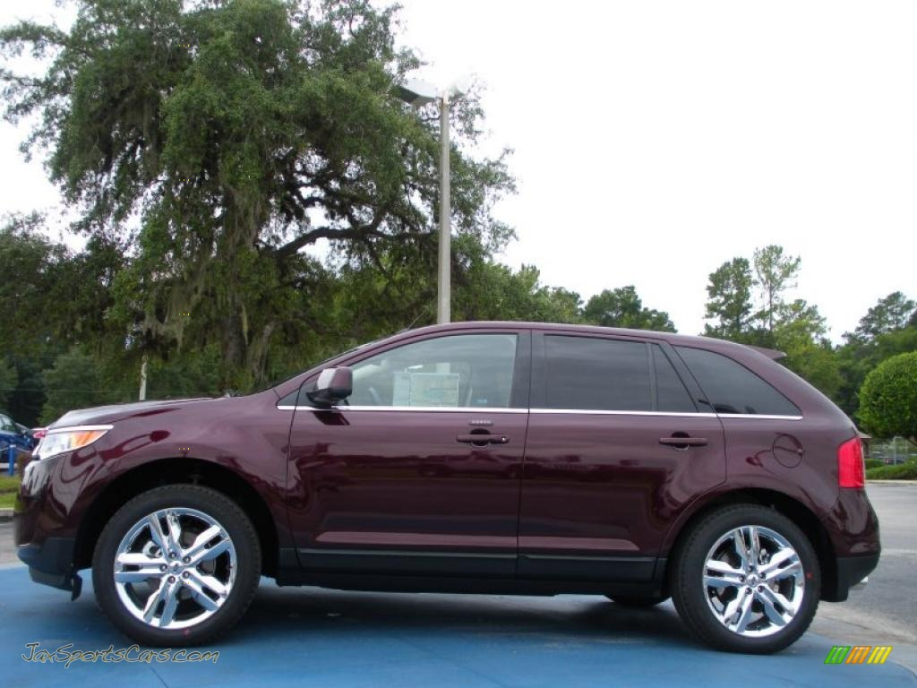 2011 ford edge limited in bordeaux reserve red metallic photo 2 a08318 jax sports cars. Black Bedroom Furniture Sets. Home Design Ideas