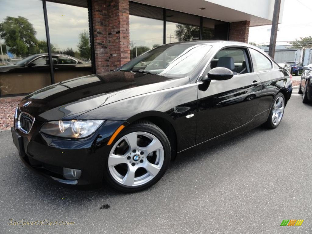 2007 Bmw 3 Series 328i Coupe In Jet Black 131519 Jax