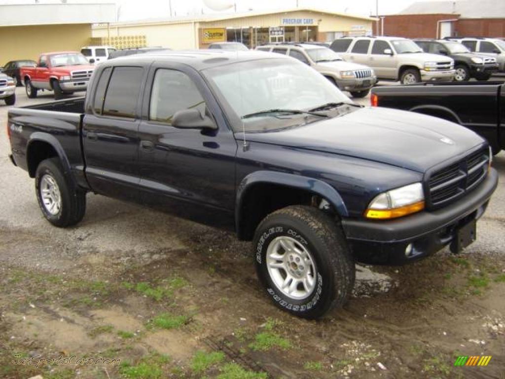 2003 dodge dakota quad cab 4x4 in patriot blue pearl 186080 jax sports cars cars for sale