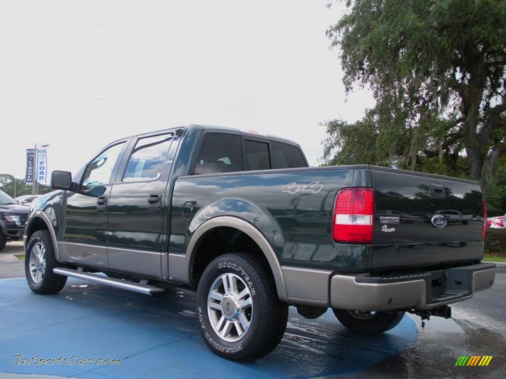 2005 ford f150 lariat supercrew 4x4 in aspen green metallic photo 3. Black Bedroom Furniture Sets. Home Design Ideas