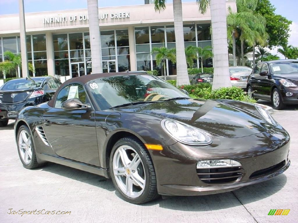 2009 porsche boxster in macadamia metallic 710877 jax sports cars cars for sale in florida. Black Bedroom Furniture Sets. Home Design Ideas