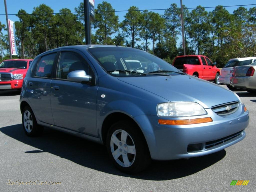 2006 chevrolet aveo ls hatchback in icelandic blue photo. Black Bedroom Furniture Sets. Home Design Ideas