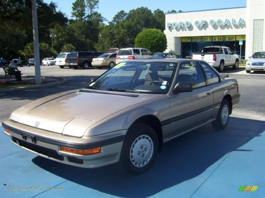 1989 Prelude S - Laguna Gold Metallic / Beige photo #1