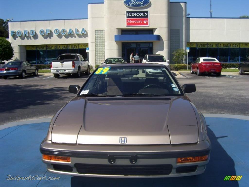 1989 Honda Prelude S In Laguna Gold Metallic Photo 2