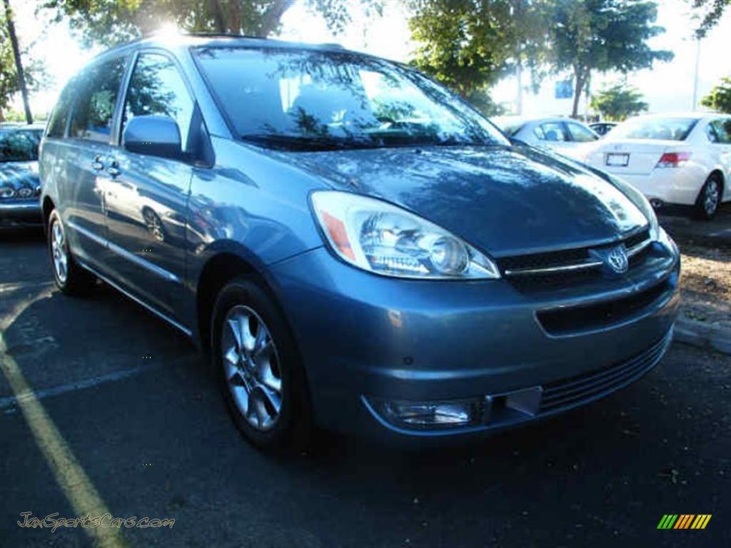 2004 Toyota Sienna Xle Limited In Blue Mirage Metallic