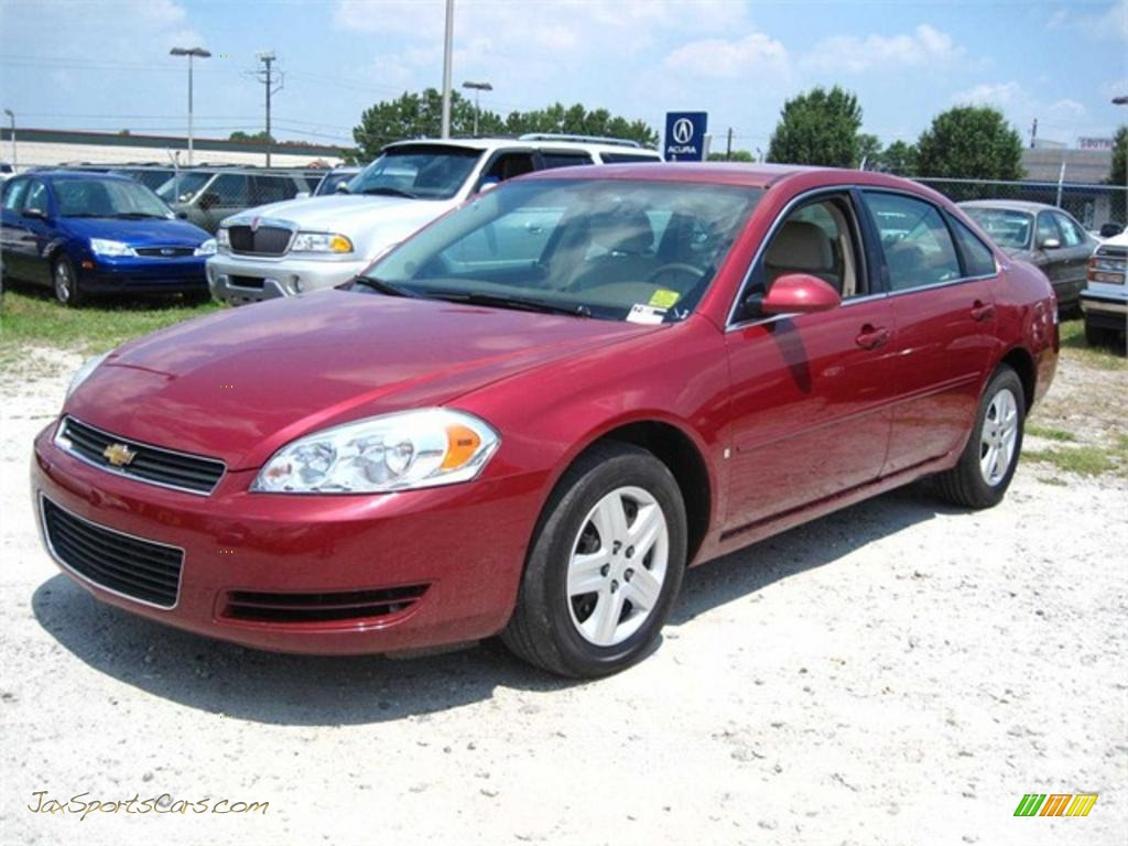 2006 chevrolet impala ls in sport red metallic 172295. Black Bedroom Furniture Sets. Home Design Ideas
