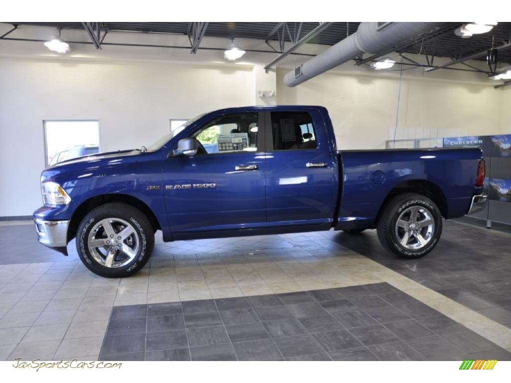 2011 Dodge Ram 1500 Big Horn Quad Cab In Deep Water Blue