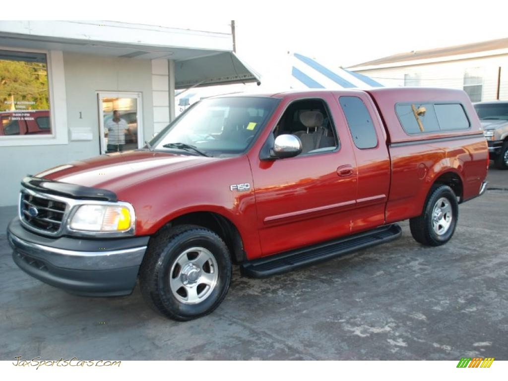 2001 Ford F150 Xlt Supercab In Toreador Red Metallic Photo