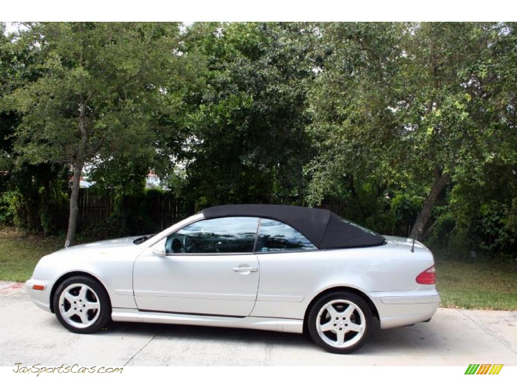 2003 mercedes benz clk 430 cabriolet in brilliant silver. Black Bedroom Furniture Sets. Home Design Ideas