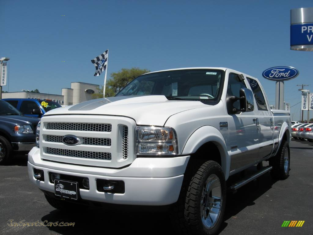 2007 ford f250 super duty xlt crew cab 4x4 renegade in oxford white clearcoat b01351 jax. Black Bedroom Furniture Sets. Home Design Ideas