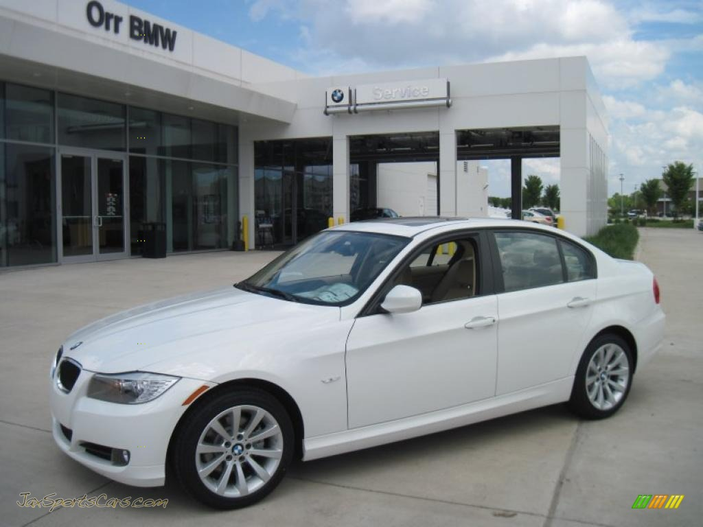 2011 Bmw 3 Series 328i Sedan In Alpine White Photo 8
