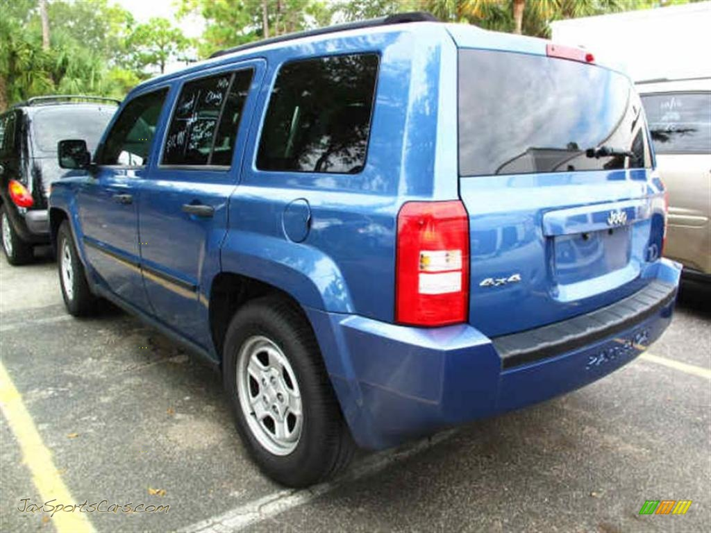 2007 jeep patriot sport 4x4 in marine blue pearl photo 3. Black Bedroom Furniture Sets. Home Design Ideas