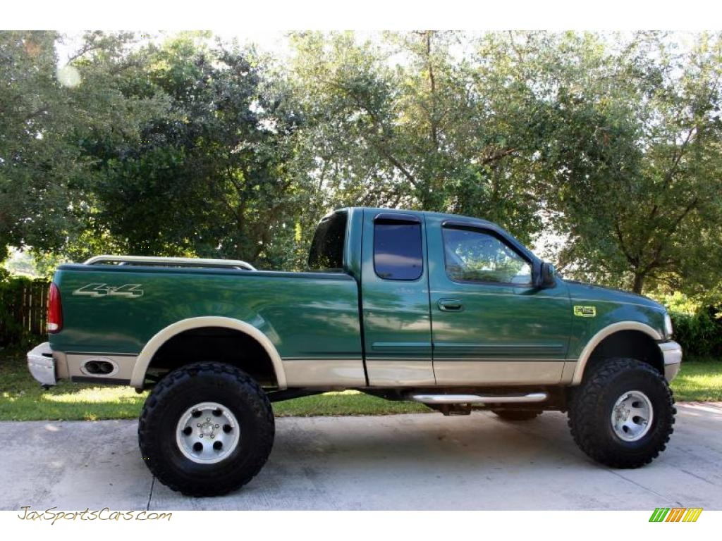 2000 ford f150 lariat extended cab 4x4 in amazon green metallic photo 11 a20797 jax sports. Black Bedroom Furniture Sets. Home Design Ideas