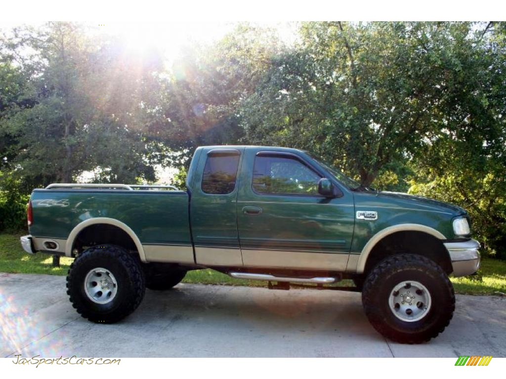 2000 ford f150 lariat extended cab 4x4 in amazon green metallic photo 12 a20797 jax sports. Black Bedroom Furniture Sets. Home Design Ideas