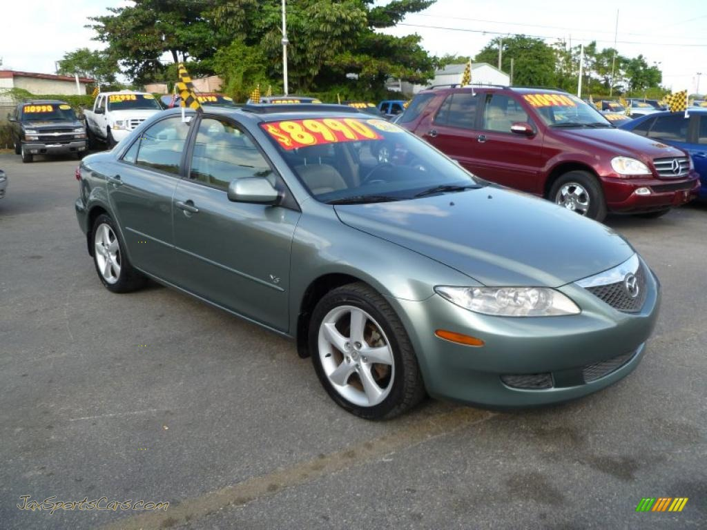 2005 mazda mazda6 s grand touring sedan in sepang green metallic m19178 jax sports cars. Black Bedroom Furniture Sets. Home Design Ideas