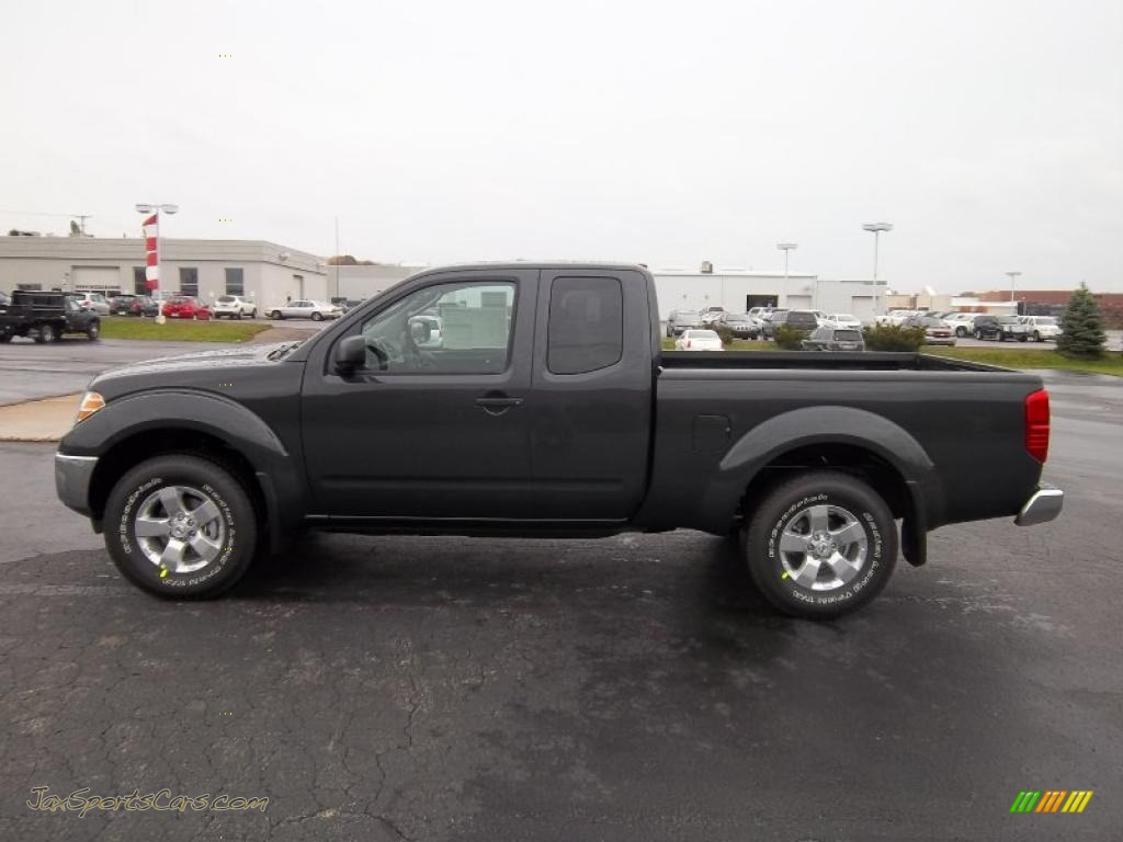 2011 Nissan Frontier Sv V6 King Cab 4x4 In Night Armor