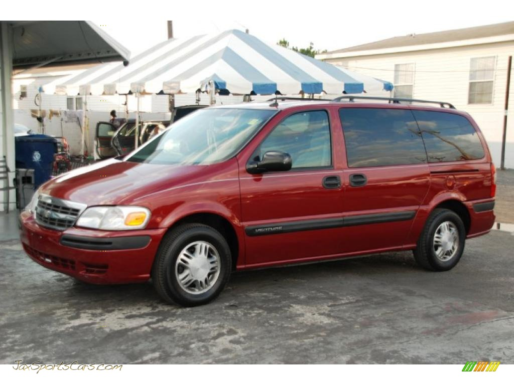 2004 chevrolet venture ls in sport red metallic 105546 jax sports cars cars for sale in florida jax sports cars