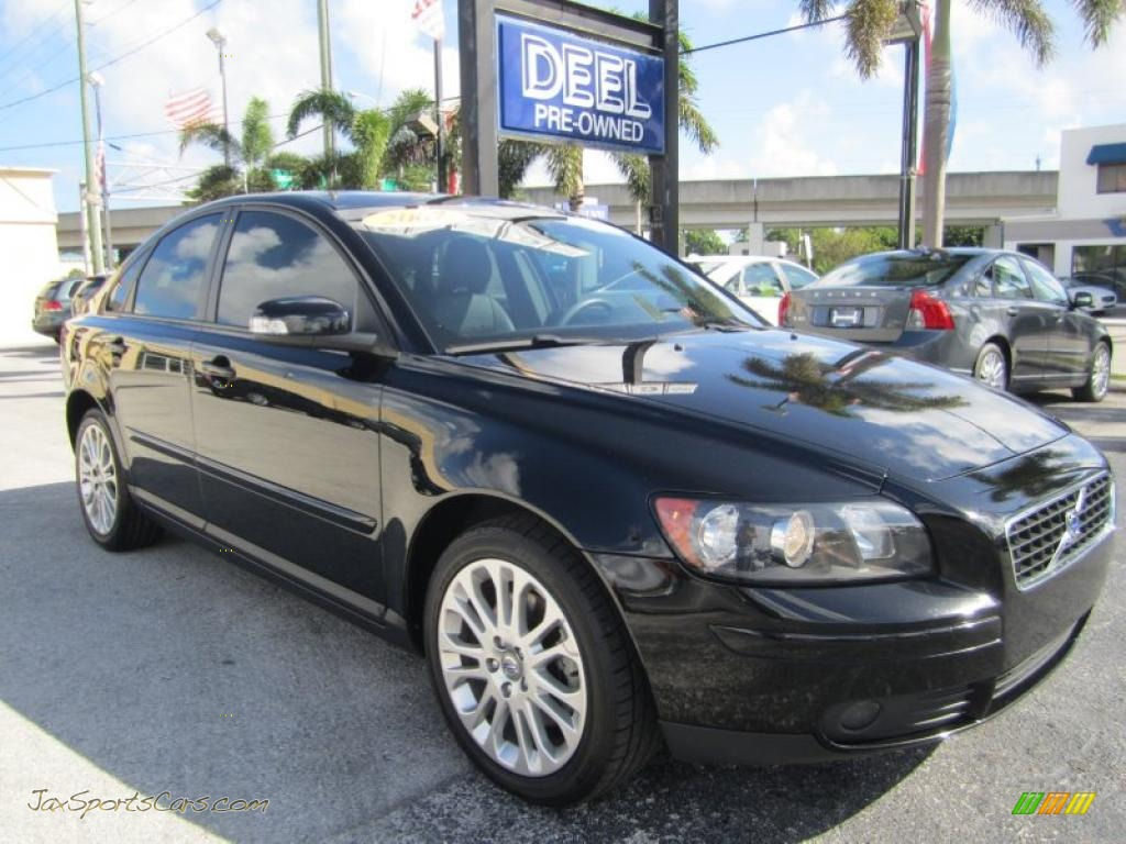 2007 volvo s40 in black 251503 jax sports cars. Black Bedroom Furniture Sets. Home Design Ideas