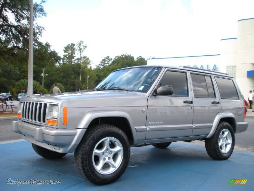 2001 cherokee sport silverstone metallic agate photo 1. Cars Review. Best American Auto & Cars Review