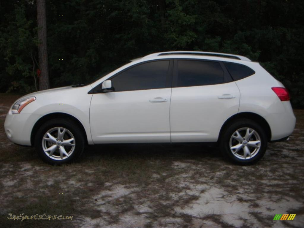 Volkswagen Fort Myers >> 2008 Nissan Rogue S in Phantom White Pearl - 302916   Jax Sports Cars - Cars for sale in FLorida