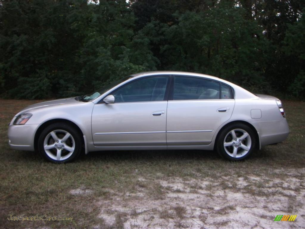 2005 nissan altima 3 5 se in sheer silver metallic 456644 jax sports cars cars for sale in. Black Bedroom Furniture Sets. Home Design Ideas
