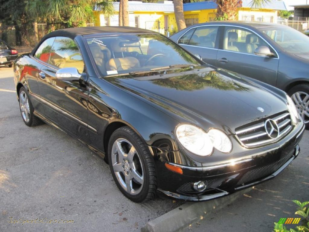 2007 mercedes benz clk 550 cabriolet in black 222693 for 2007 mercedes benz clk550