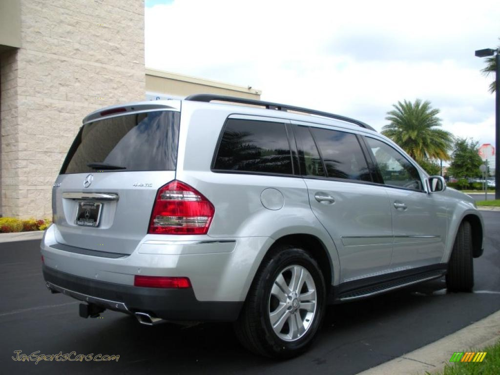 2008 mercedes benz gl 450 4matic in iridium silver metallic photo 6 358000 jax sports cars. Black Bedroom Furniture Sets. Home Design Ideas