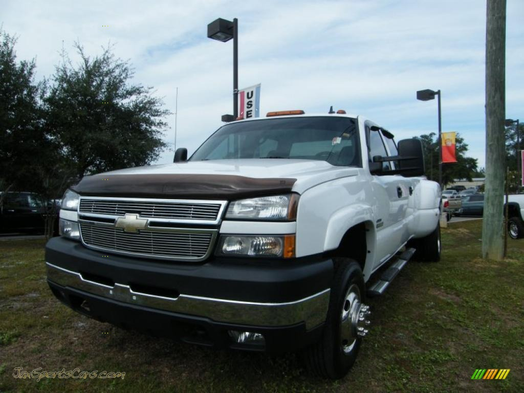 2007 chevrolet silverado 3500hd lt crew cab dually in summit white photo 28 175993 jax. Black Bedroom Furniture Sets. Home Design Ideas