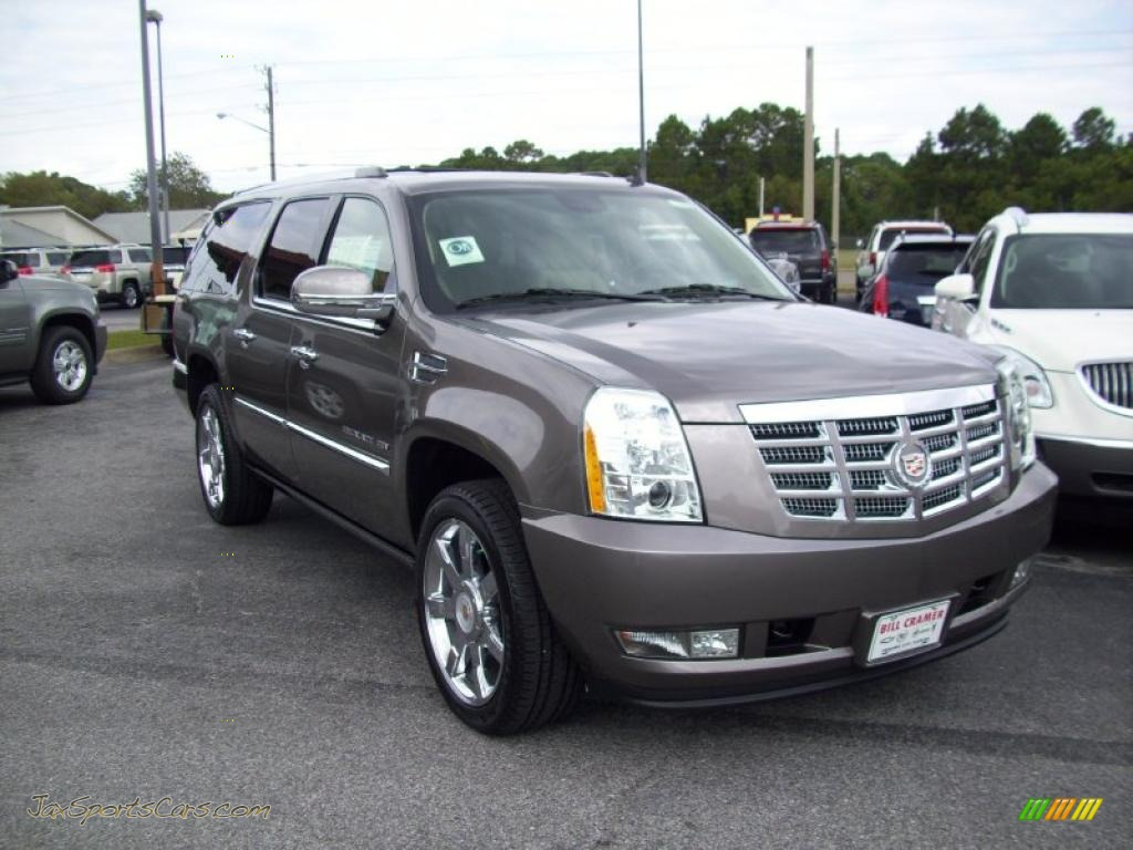 2011 cadillac escalade esv premium in mocha steel metallic. Black Bedroom Furniture Sets. Home Design Ideas