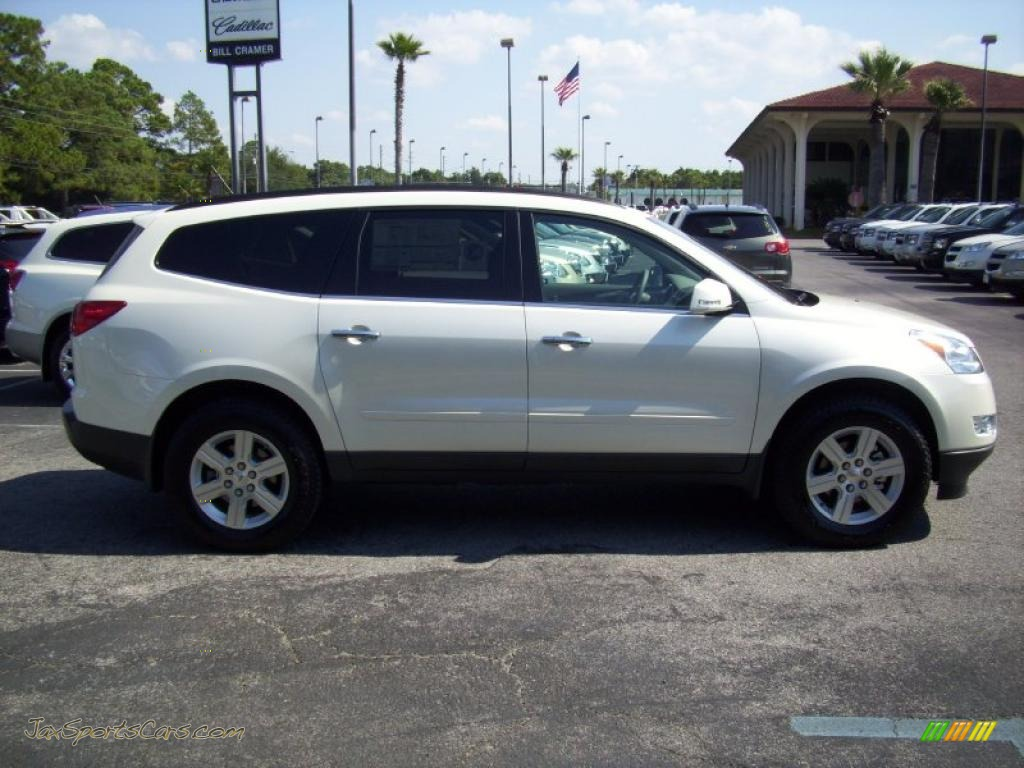 2011 Chevrolet Traverse Lt In White 207401 Jax Sports