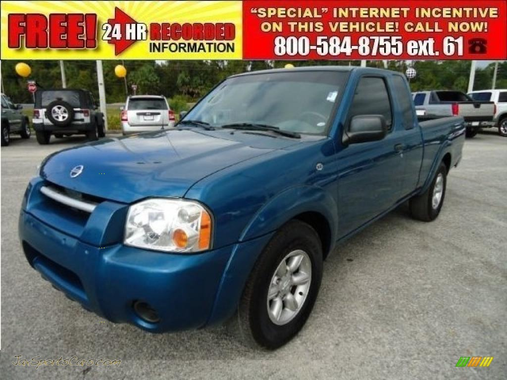 2004 nissan frontier xe king cab in electric blue metallic electric blue metallic gray nissan frontier xe king cab vanachro Images