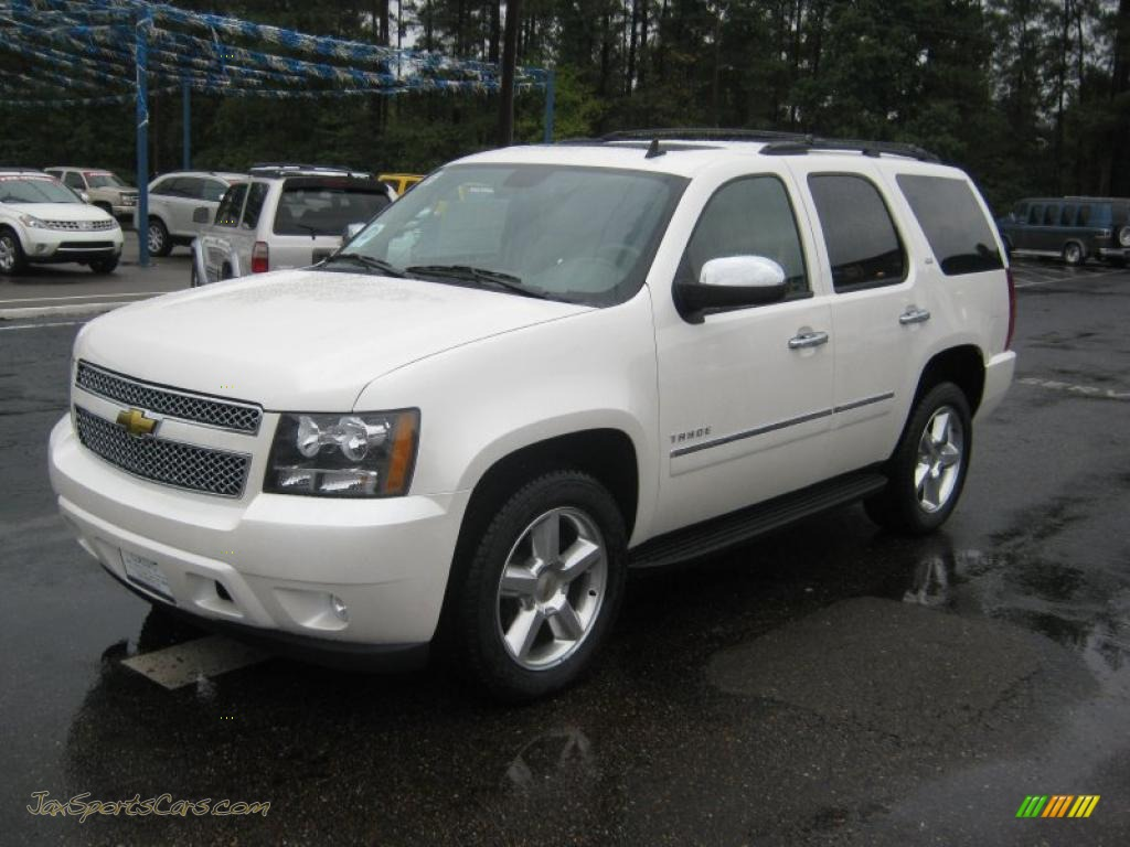 2011 chevrolet tahoe ltz in white diamond tricoat 191757 jax sports cars cars for sale in. Black Bedroom Furniture Sets. Home Design Ideas