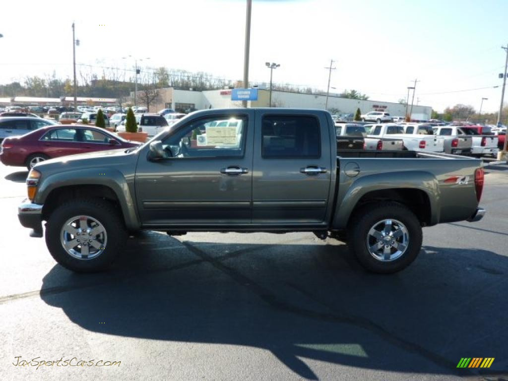 2011 chevrolet colorado lt crew cab 4x4 in steel green. Black Bedroom Furniture Sets. Home Design Ideas