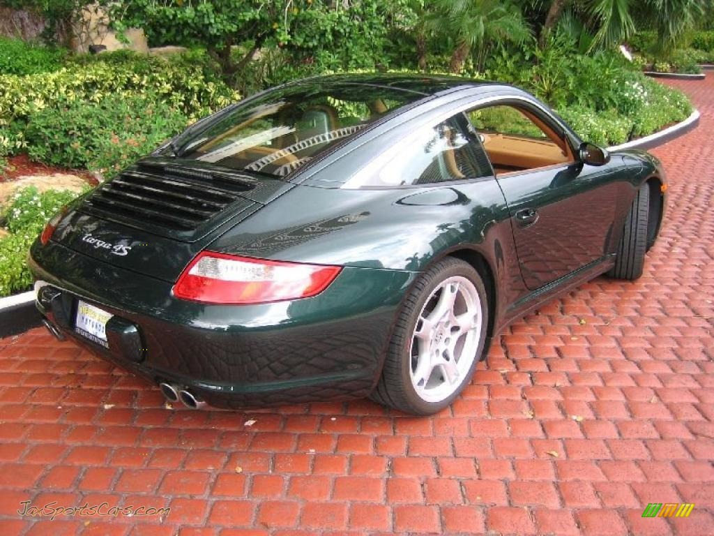 31cfb4442d6a94 2008 Porsche 911 Targa 4S in Forest Green Metallic photo  4 - 755357 ...