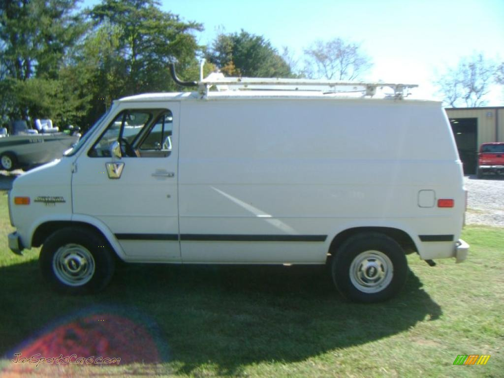 1990 Chevrolet Chevy Van G10 Cargo In White Photo 3 139802 Jax Sports Cars Cars For Sale In Florida