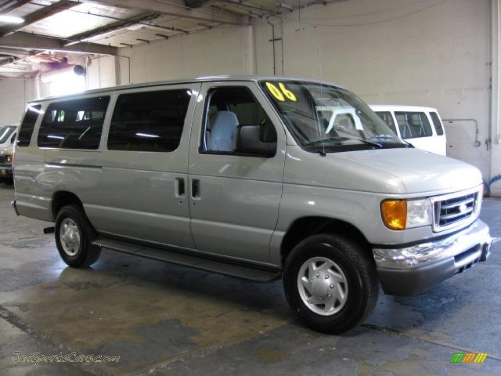 2006 Ford E Series Van E350 Xlt 15 Passenger In Silver