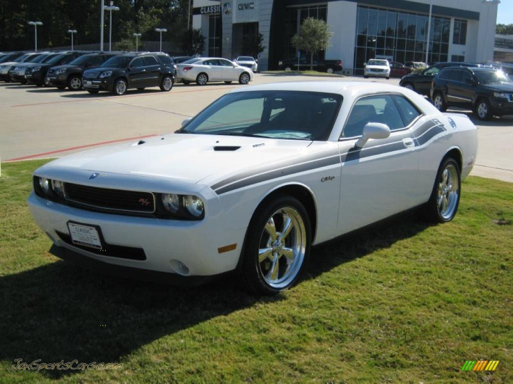2010 Dodge Challenger R/T Classic in Stone White - 265314 | Jax Sports ...