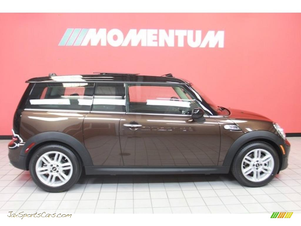 2011 Cooper S Clubman - Hot Chocolate Metallic / Hot Chocolate Lounge Leather photo #1