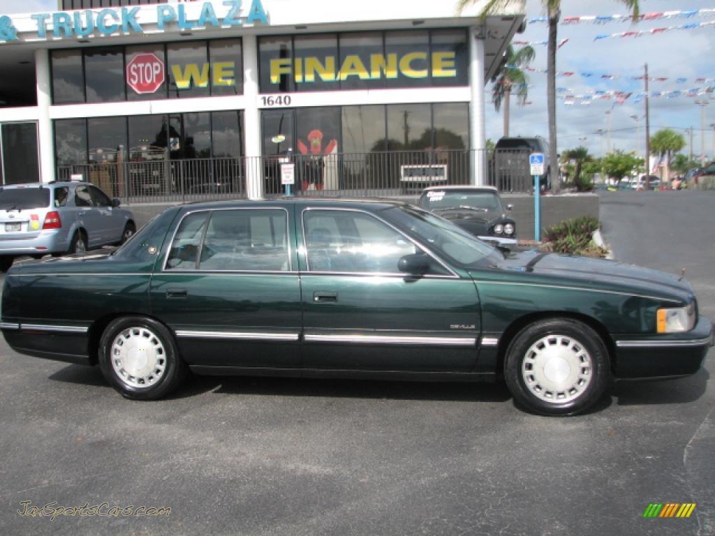 1997 Cadillac Deville Sedan In Polo Green Metallic