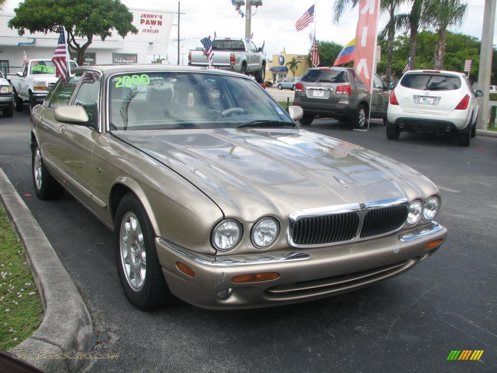 2000 jaguar xj xj8 in topaz metallic f04547 jax sports cars cars for sale in florida. Black Bedroom Furniture Sets. Home Design Ideas