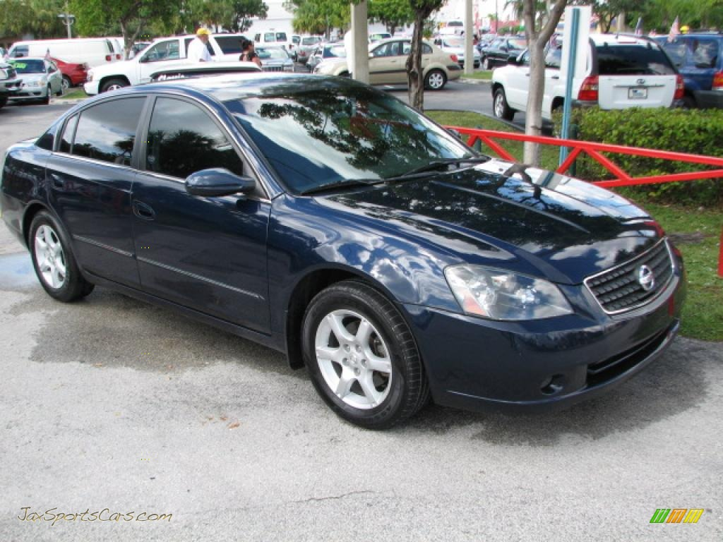 2005 nissan altima 2 5 s in majestic blue metallic. Black Bedroom Furniture Sets. Home Design Ideas