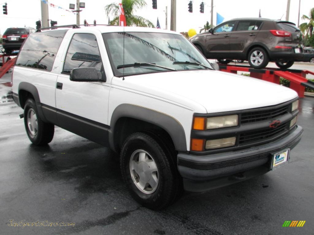 1996 Chevrolet Tahoe Sport 4x4 In Summit White 139211