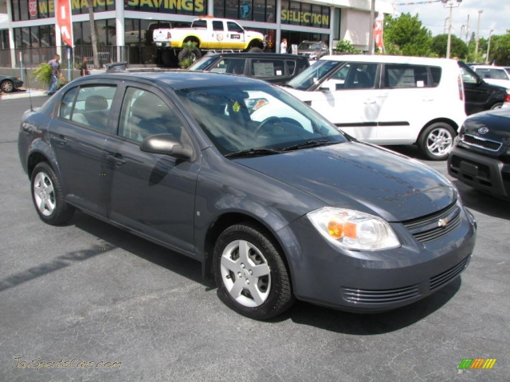 2008 chevrolet cobalt ls sedan in slate metallic 130176. Black Bedroom Furniture Sets. Home Design Ideas