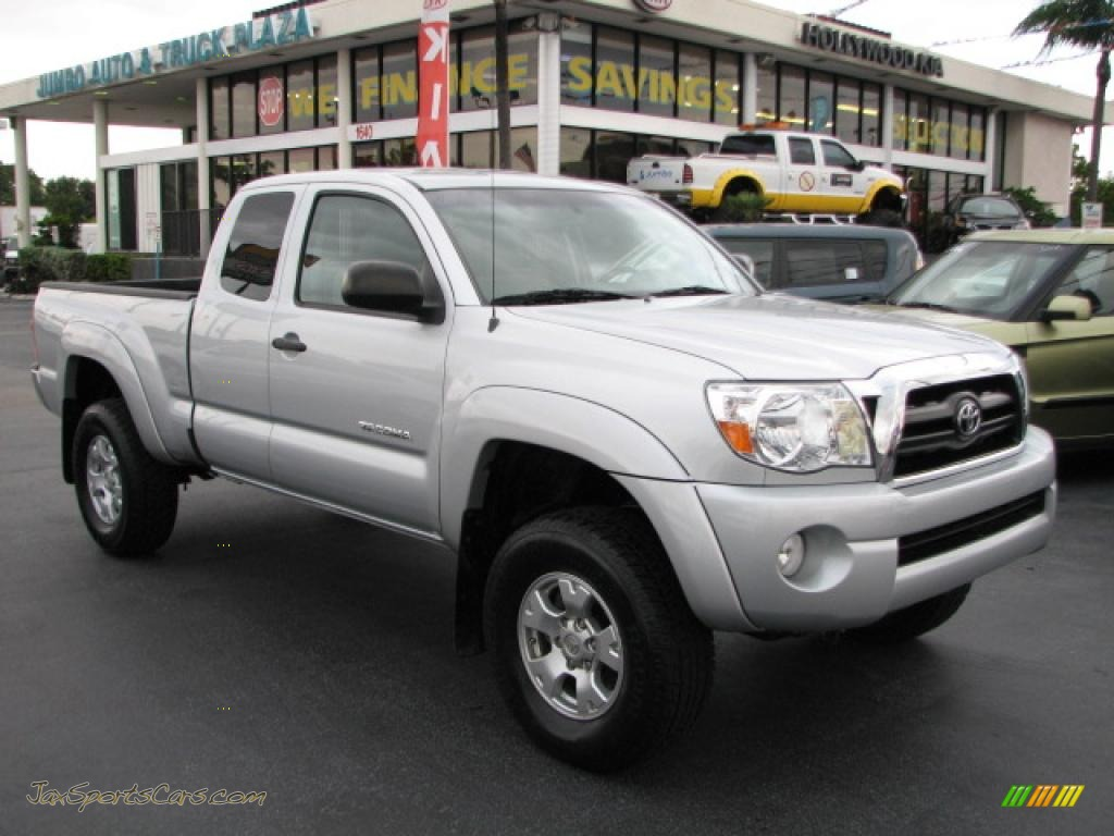 2006 toyota tacoma v6 access cab 4x4 in silver streak mica 232594 jax sports cars cars for. Black Bedroom Furniture Sets. Home Design Ideas