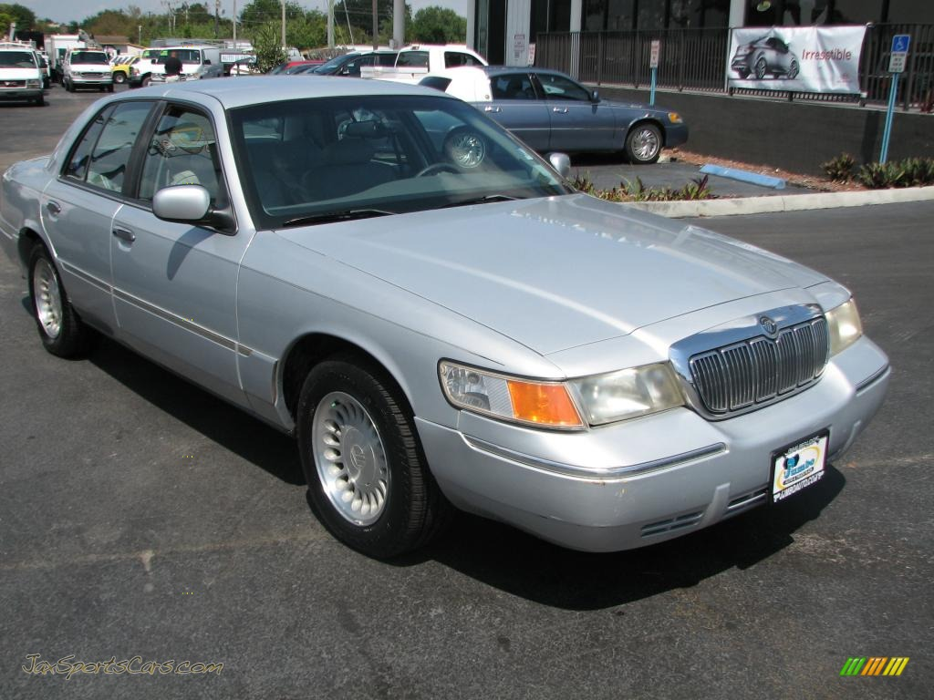 2000 mercury grand marquis ls in silver frost metallic 717632 jax sports cars cars for. Black Bedroom Furniture Sets. Home Design Ideas