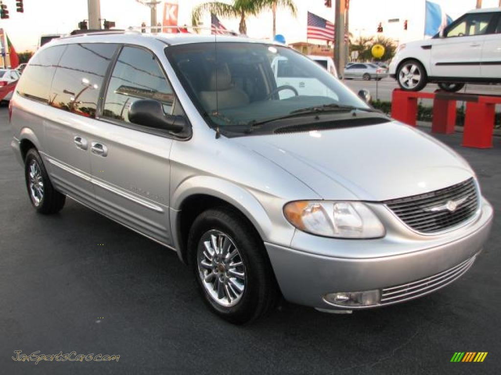 2001 town country limited bright silver metallic taupe photo 1. Cars Review. Best American Auto & Cars Review