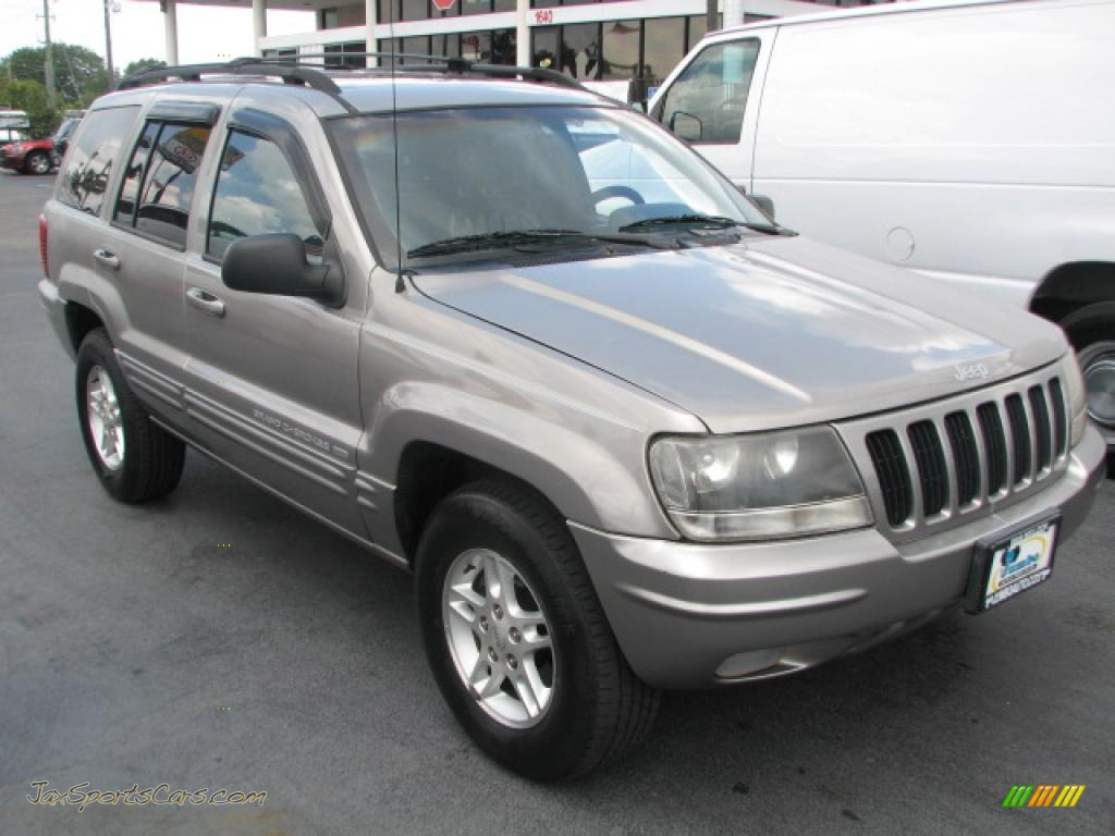 1999 Grand Cherokee Limited - Taupe Frost Metallic / Agate photo #1