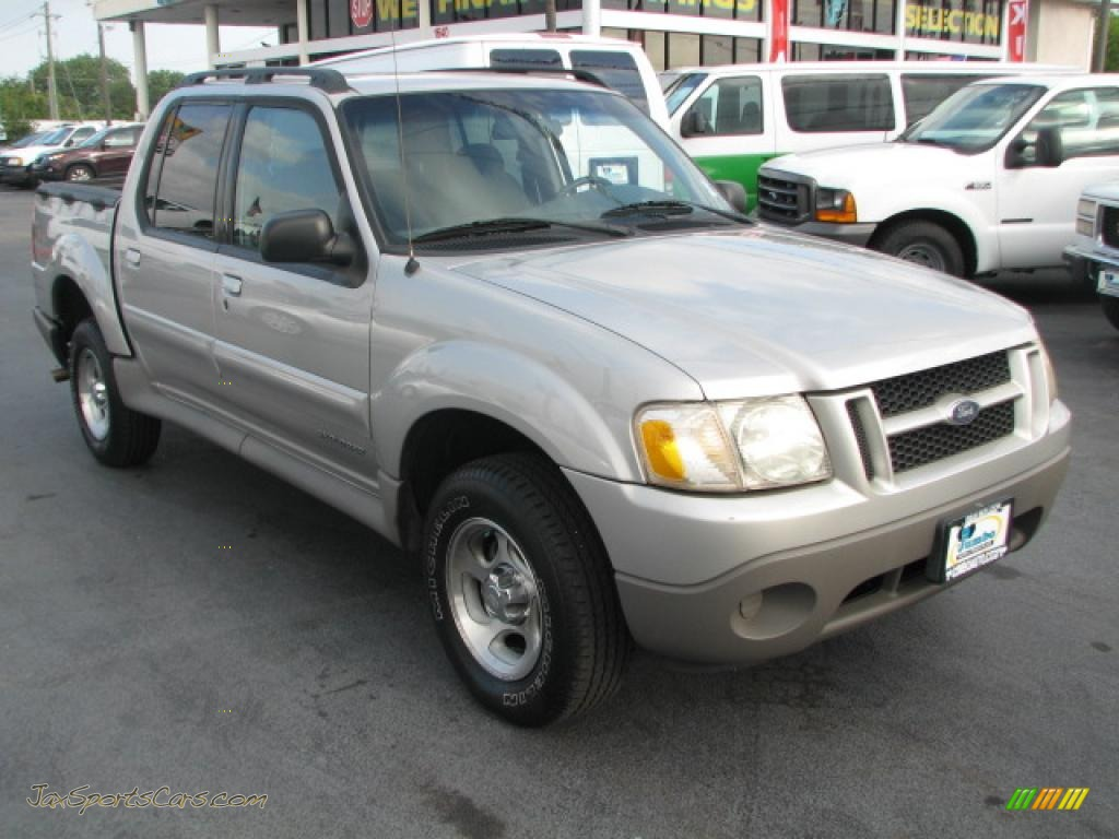 2002 ford explorer sport trac in silver birch metallic d71927 jax. Cars Review. Best American Auto & Cars Review